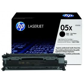 HP 05X High Yield LaserJet Toner - Black