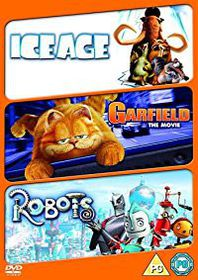 Robots / Ice Age / Garfield (DVD)