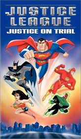 Justice League Justice On Trial (DVD)