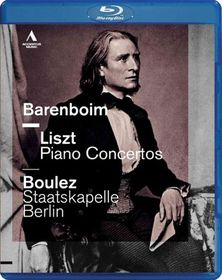 Liszt/Wagner:Piano Concertos - (Region A Import Blu-ray Disc)