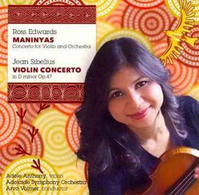 Sibelius / Edwardsadelaide Sym Orch / Volmer - Violin Concertos (CD)