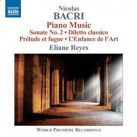 Bacri: Piano Music - Piano Music (CD)