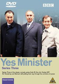 Yes Minister Series 3 and Party Games (2 Disc set) - (DVD)