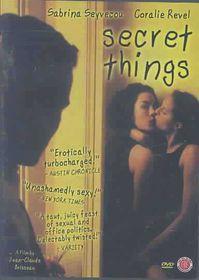 Secret Things - (Region 1 Import DVD)