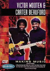 Making Music with Carter Beauford and Victor Wooten - (Region 1 Import DVD)