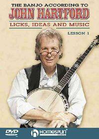 Banjo According to John Hartford V 1 - (Region 1 Import DVD)