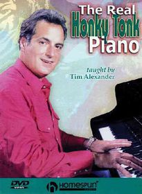 Real Honky Tonk Piano - (Region 1 Import DVD)