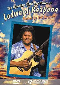Hawaiian Slack Key Guitar of Ledward - (Region 1 Import DVD)