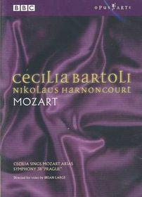 Mozart / Bartoli / Harnoncourt / Concentus Musicus - Cecilia Sings Mozart (DVD)