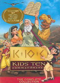 Kids 10 Commandments - (Region 1 Import DVD)