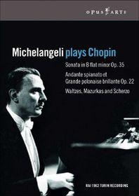Michelangeli Plays Chopin - (Australian Import DVD)