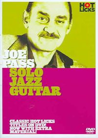 Joe Pass:Solo Jazz Guitar - (Region 1 Import DVD)