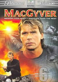 Macgyver:Complete Sixth Season - (Region 1 Import DVD)