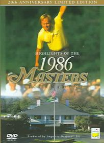 Highlights Of The 1986 Masters Tournament: 20th Anniversary - (Region 1 Import DVD)