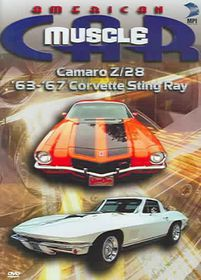 American Muscle Car: Camaro Z/28 '63-'67 Corvette Sting Ray - (Region 1 Import DVD)