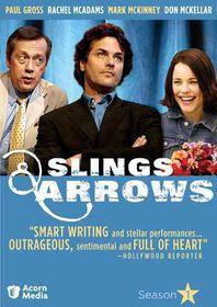 Slings & Arrows Season 1 - (Region 1 Import DVD)