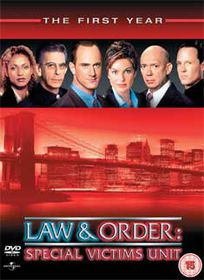 Law and Order Special Victims Unit - Series 1 (Import DVD)