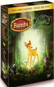 Bambi 1 and 2 Boxset - (DVD)