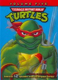 Teenage Mutant Ninja Turtles Vol 5 - (Region 1 Import DVD)