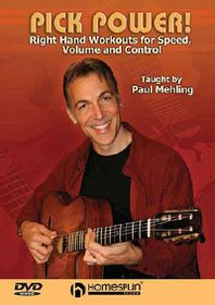 Pick Power! - Right-Hand Workouts for Speed, Volume and Control - (Region 1 Import DVD)