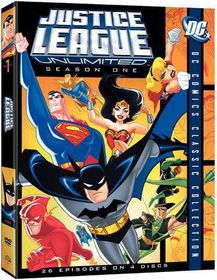 Justice League Unlimited - The Complete First Season - (Region 1 Import DVD)