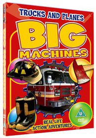 Big Machines-Trucks And Planes - (Import DVD)