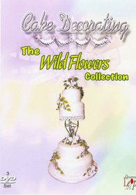 Cake Decorating Wild Flowers (3 Discs) - (Import DVD)
