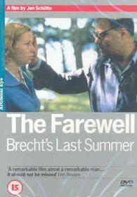 Farewell-Brecht's Last Summer - (Import DVD)