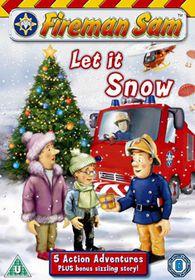 Fireman Sam - Let It Snow - (Import DVD)