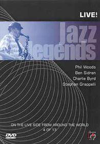 Jazz Legends-Woods,Sidran,Byrd - (Import DVD)
