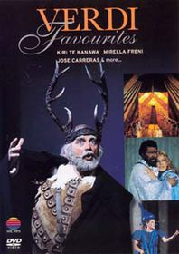 Verdi Favourites - Various (DVD)