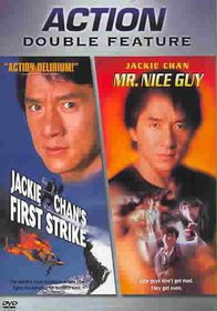 Jackie Chan's First Strike/Mr. Nice Guy - (Region 1 Import DVD)