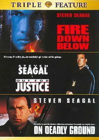 Fire Down Below/Out For Justice/On Deadly Ground - (Region 1 Import DVD)