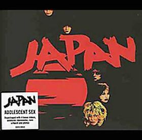Japan - Adolescent Sex - Remastered (CD)