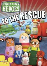Higglytown Heroes: Heroes to the Rescue - (Region 1 Import DVD)