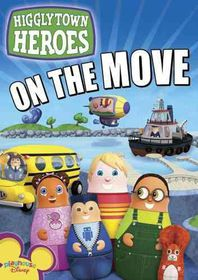 Higglytown Heroes:on the Move - (Region 1 Import DVD)