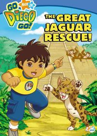 Go Diego Go the Great Jaguar Rescue - (Region 1 Import DVD)