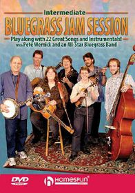 Intermediate Bluegrass Jam Session - (Region 1 Import DVD)