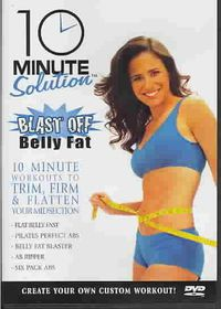 10 Minute Solution: Blast Off Belly Fat - (Region 1 Import DVD)