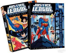 Justice League Unlimited: Complete Seasons 1&2 - (Australian Import DVD)