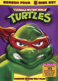 Teenage Mutant Ninja Turtles - Season 4 - (Region 1 Import DVD)