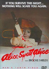 Alice Sweet Alice - (Region 1 Import DVD)