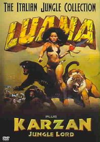 Luana/Karzan Jungle Lord - (Region 1 Import DVD)
