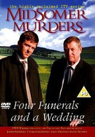 Midsomer Murders - Four Funerals and a Wedding - (Import DVD)