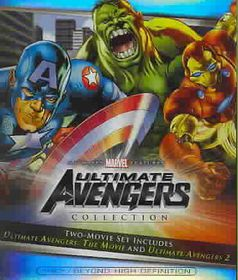 Ultimate Avengers 1 & 2 - (Region A Import Blu-ray Disc)