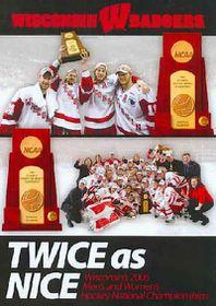 Twice As Nice:Wisconsin's 2006 Men's - (Region 1 Import DVD)