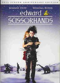Edward Scissorhands Anniversary Edition - (Region 1 Import DVD)