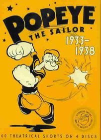 Popeye the Sailor:1933-1938 Vol One - (Region 1 Import DVD)