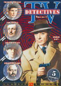 TV Detectives Vol 1 - (Region 1 Import DVD)