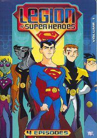 Legion of the Superheroes:Vol 1 - (Region 1 Import DVD)